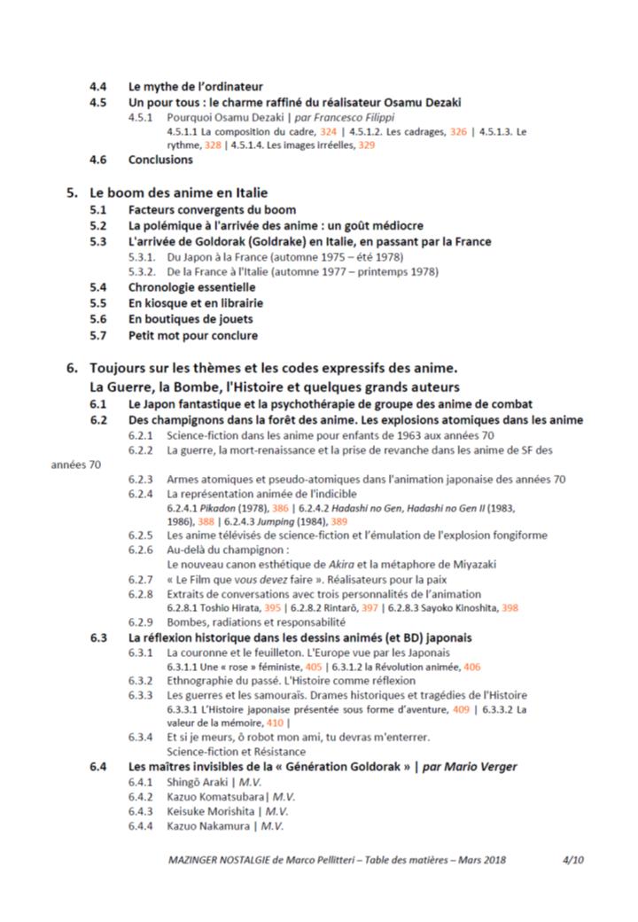 Livre Mazinga nostalgia (Marco Pellitteri) - Réédition 2018 - Page 2 181110084916701144