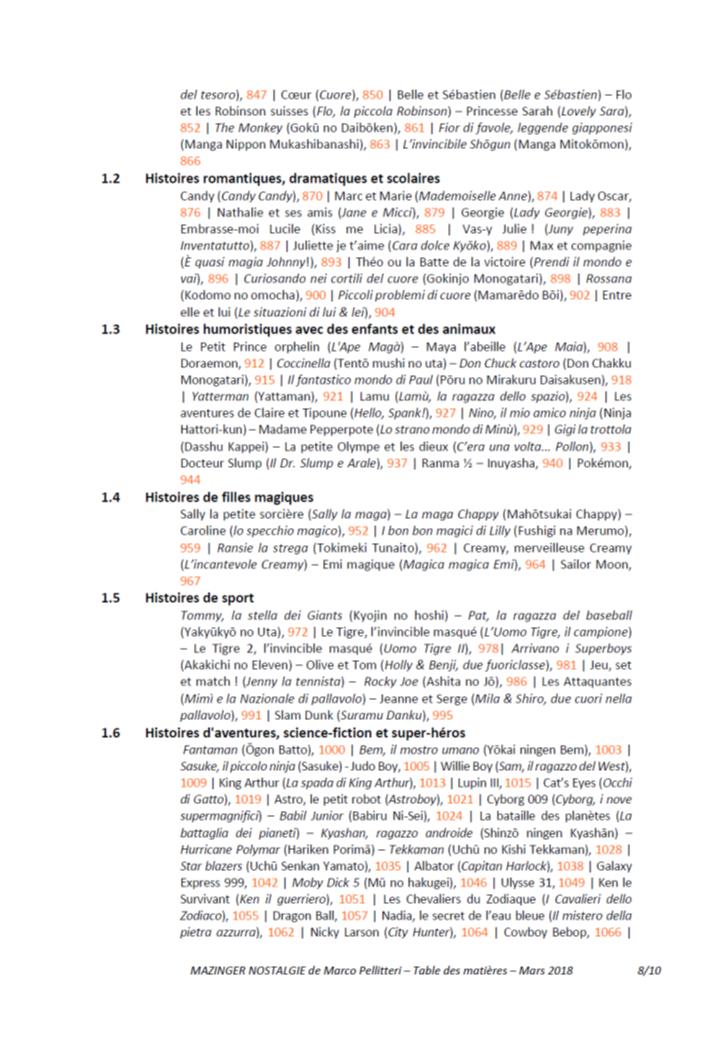 Livre Mazinga nostalgia (Marco Pellitteri) - Réédition 2018 - Page 2 181110084929845567