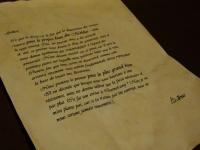 Lettre : Dumbledore à Gellert Grindelwald Mini_181112053610657231