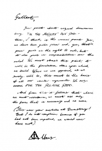 Lettre : Dumbledore à Gellert Grindelwald Mini_181112053611454876