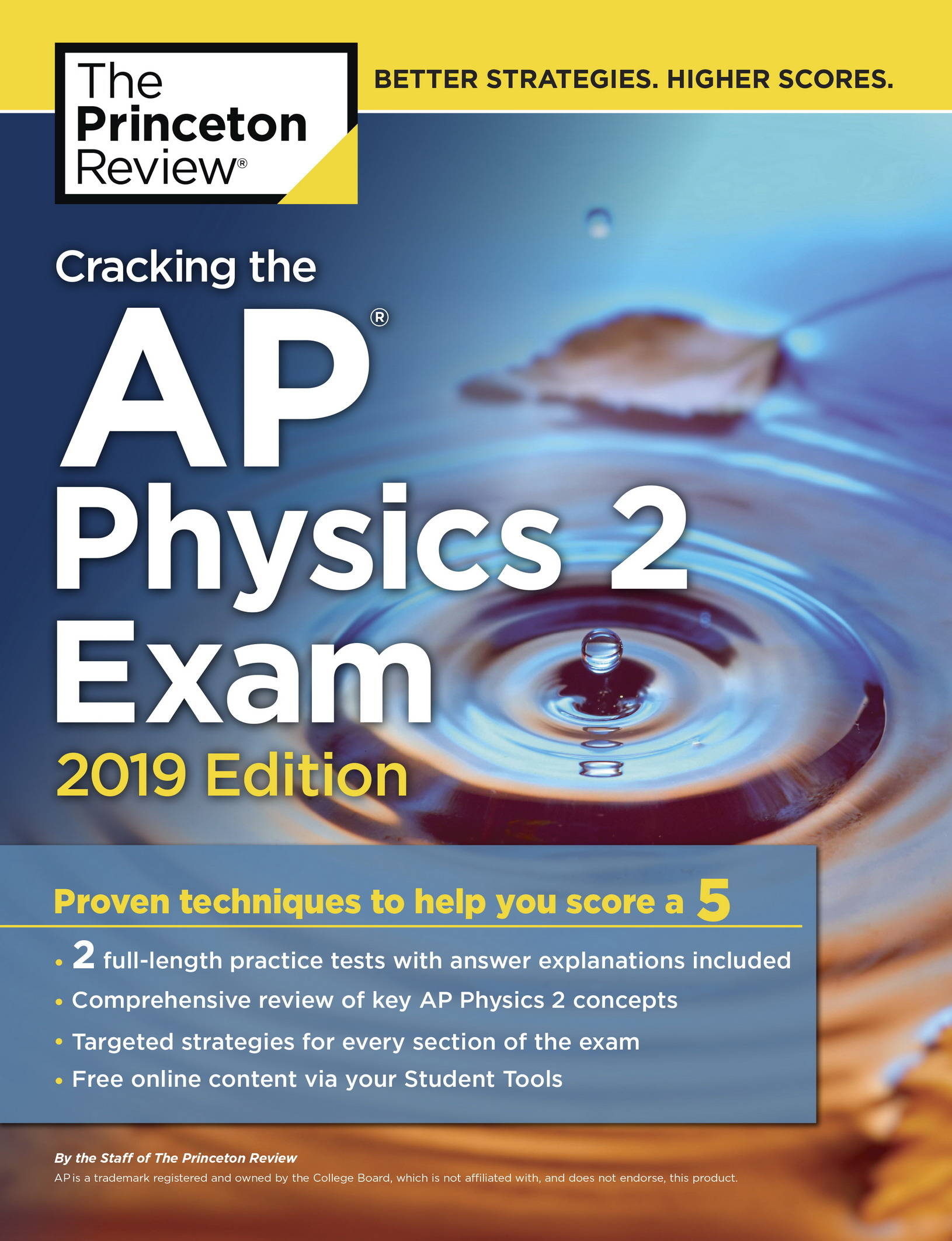Cracking the AP Physics 2 Exam, 2019 Edition: Practice Tests