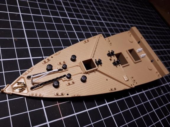 Titanic 1/400 academy + kit eduard 181113104332100730