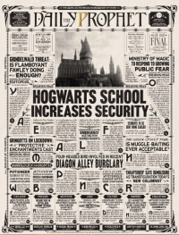 Daily Prophet (Partie 15 : Hogwarts school increases security) Mini_181113052454810560