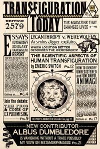 Transfiguration Today : Lycanthropy, Essays, Animagi Mini_181113053940922437