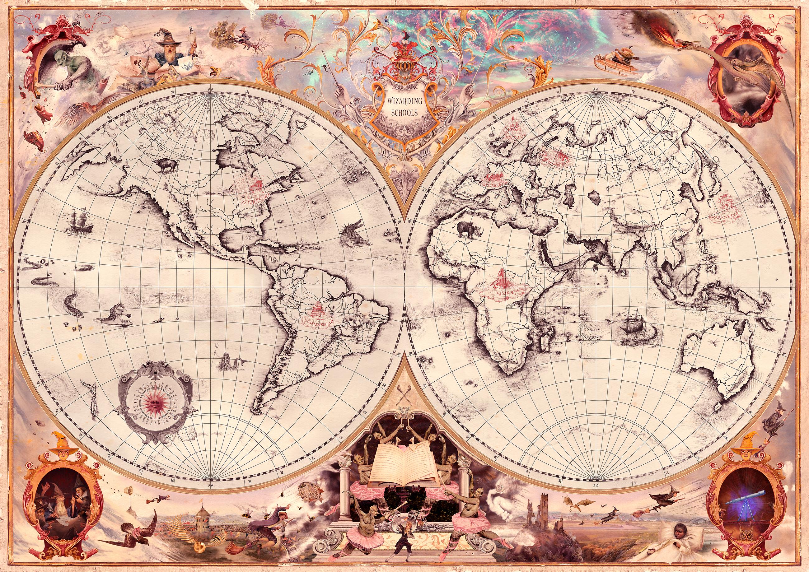 Ecole de sorcellerie du monde entier