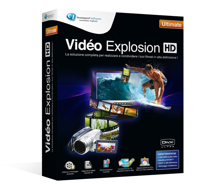 Avanquest Video Explosion HD Ultimate 7.7.0 Multilingual