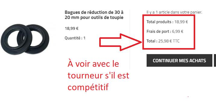 Toupie (suite) : entretien des outils de coupe et problème de bouchon 181120085935422650