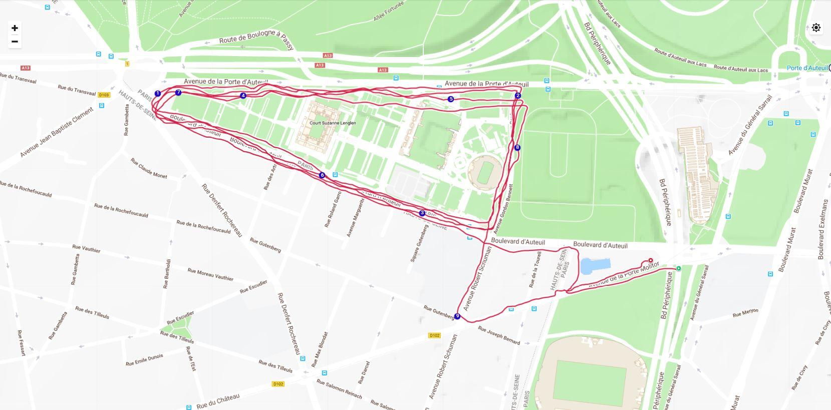 Vantage V - GPS
