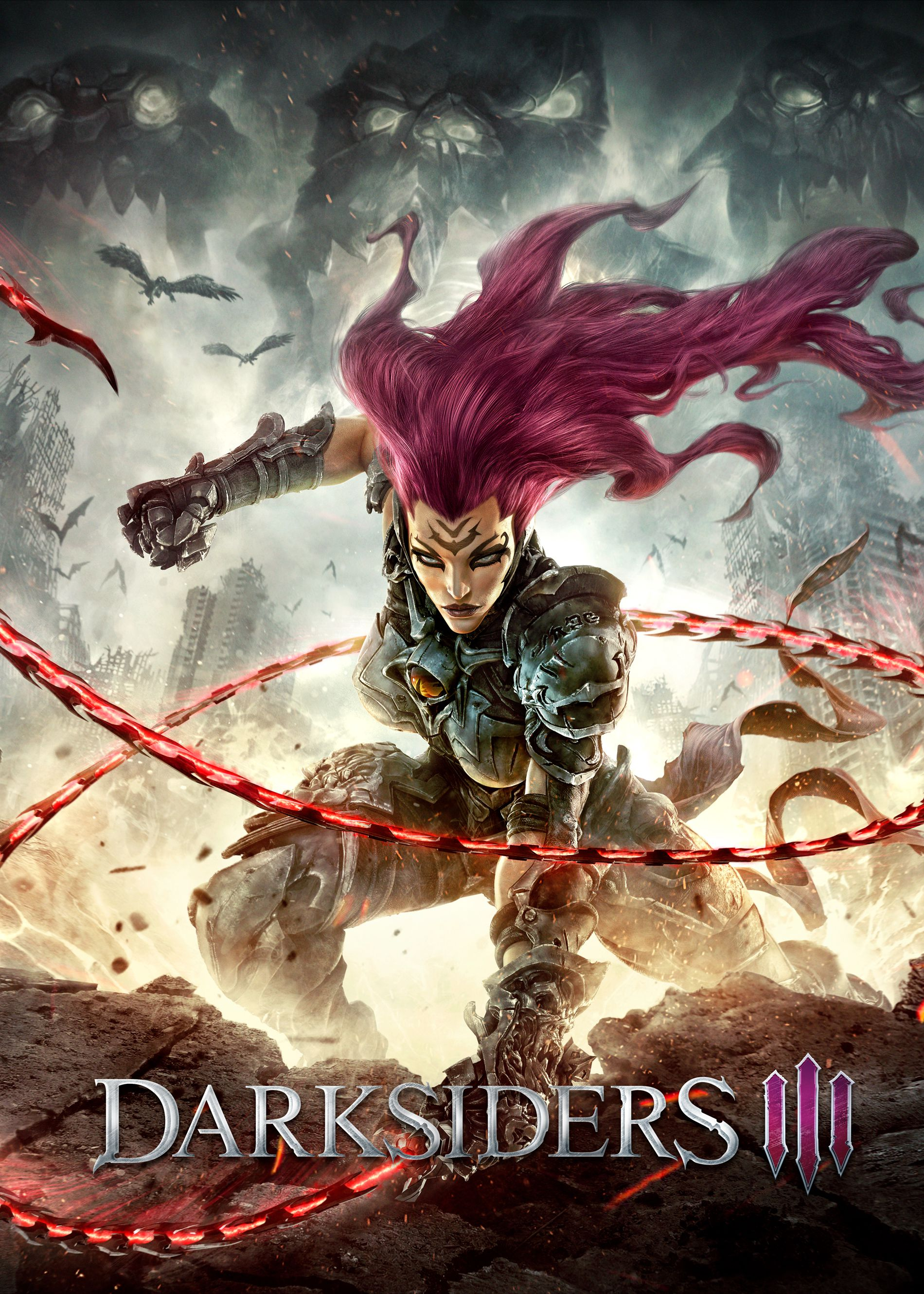 Poster for Darksiders III