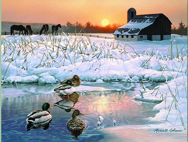 Paysages d'hiver ... 181123110909535211