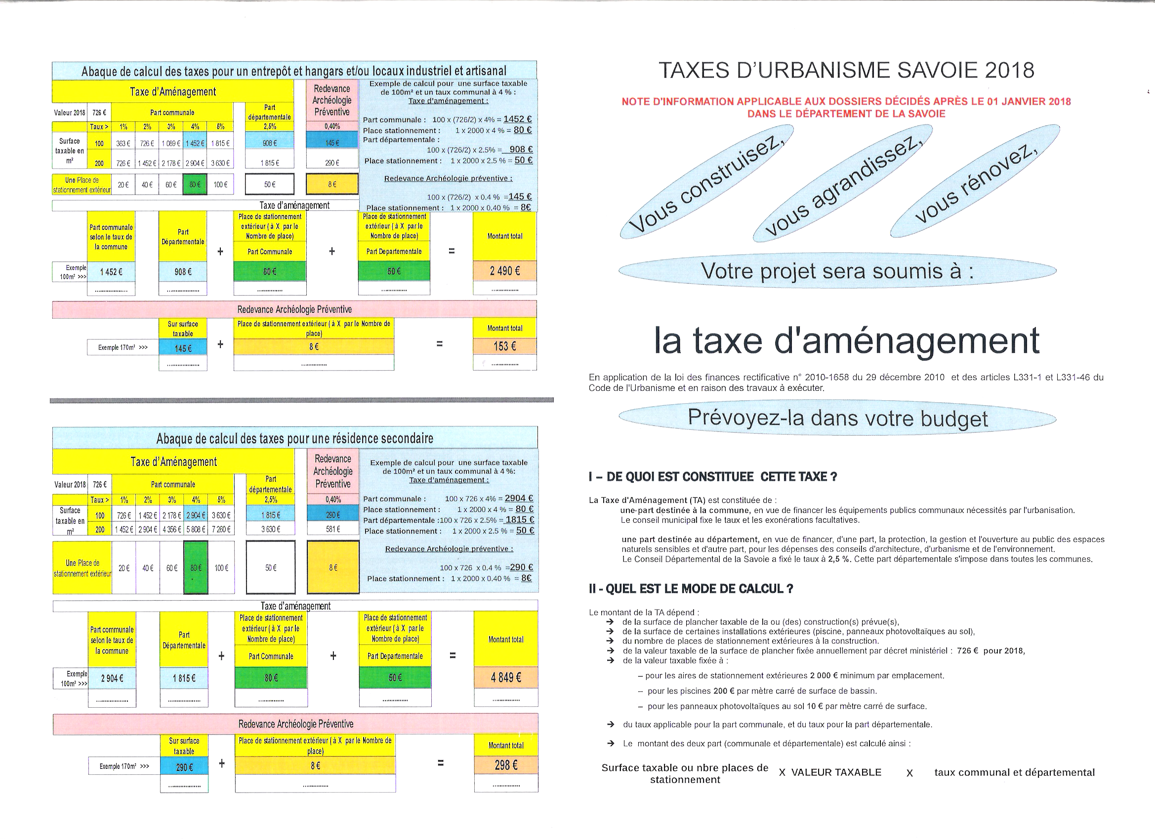 taxe amenagement  1