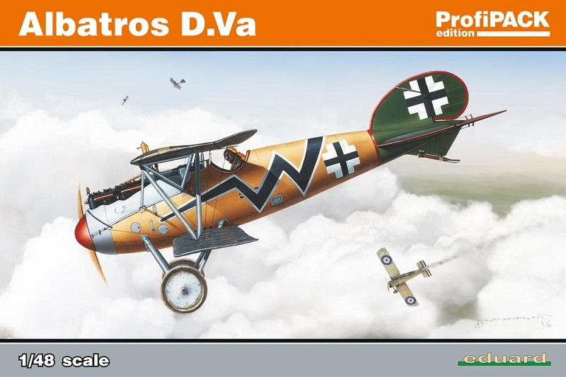 Albatros D.Va Eduard - 1/48 181125070505302904
