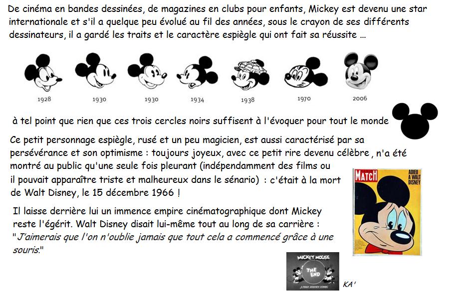 Mickey 3 et fin