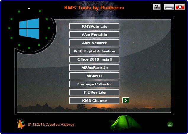Ratiborus KMS Tools 01.08.2020 [EN] [Up-Load] 181201090241729508