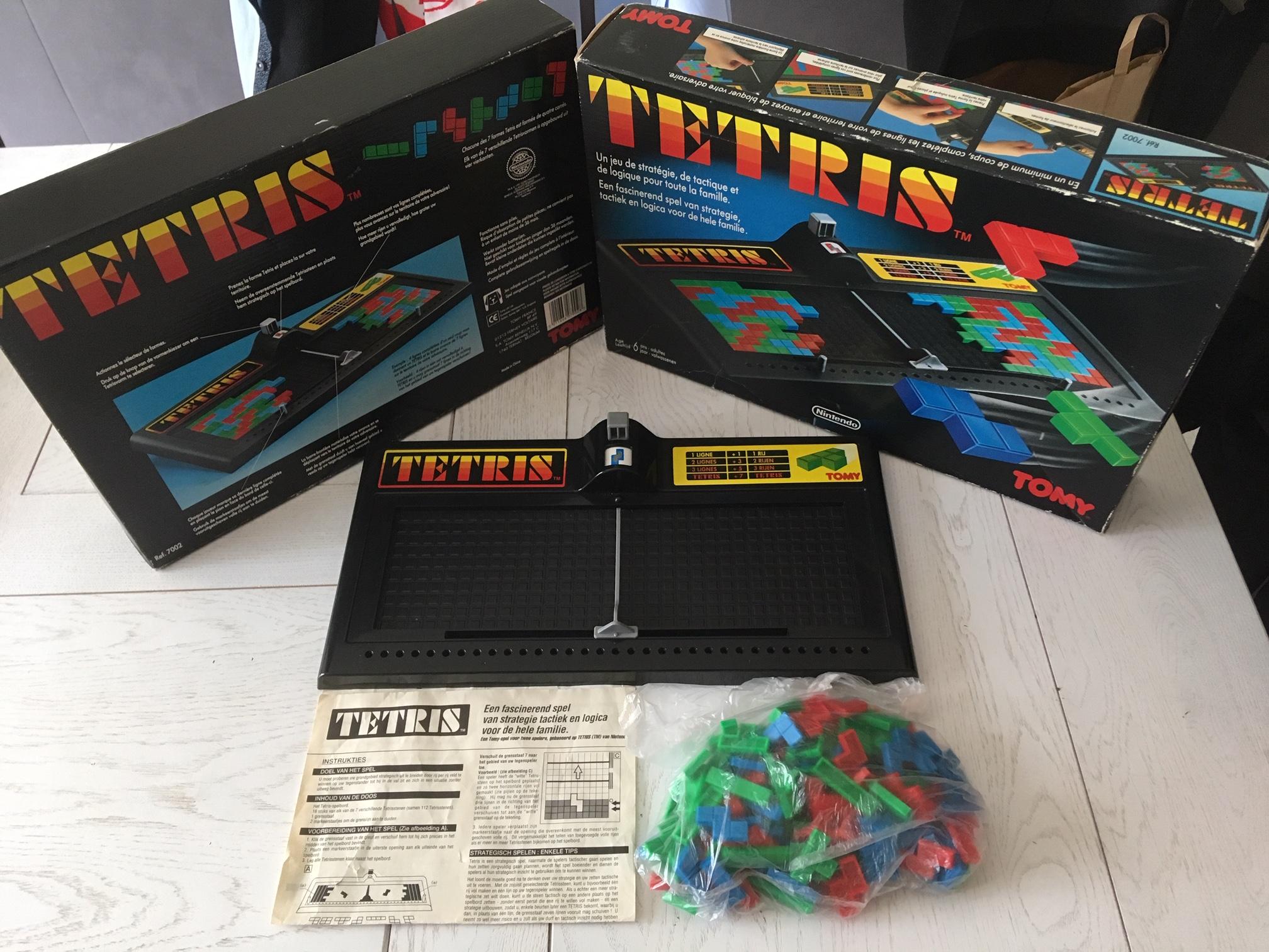 [ECH] Astujeux/Flipsiders, cartes Les Crados, MOTU, Mask, jeux de société années 90, Tomy Tetris, etc... 181203023327290584