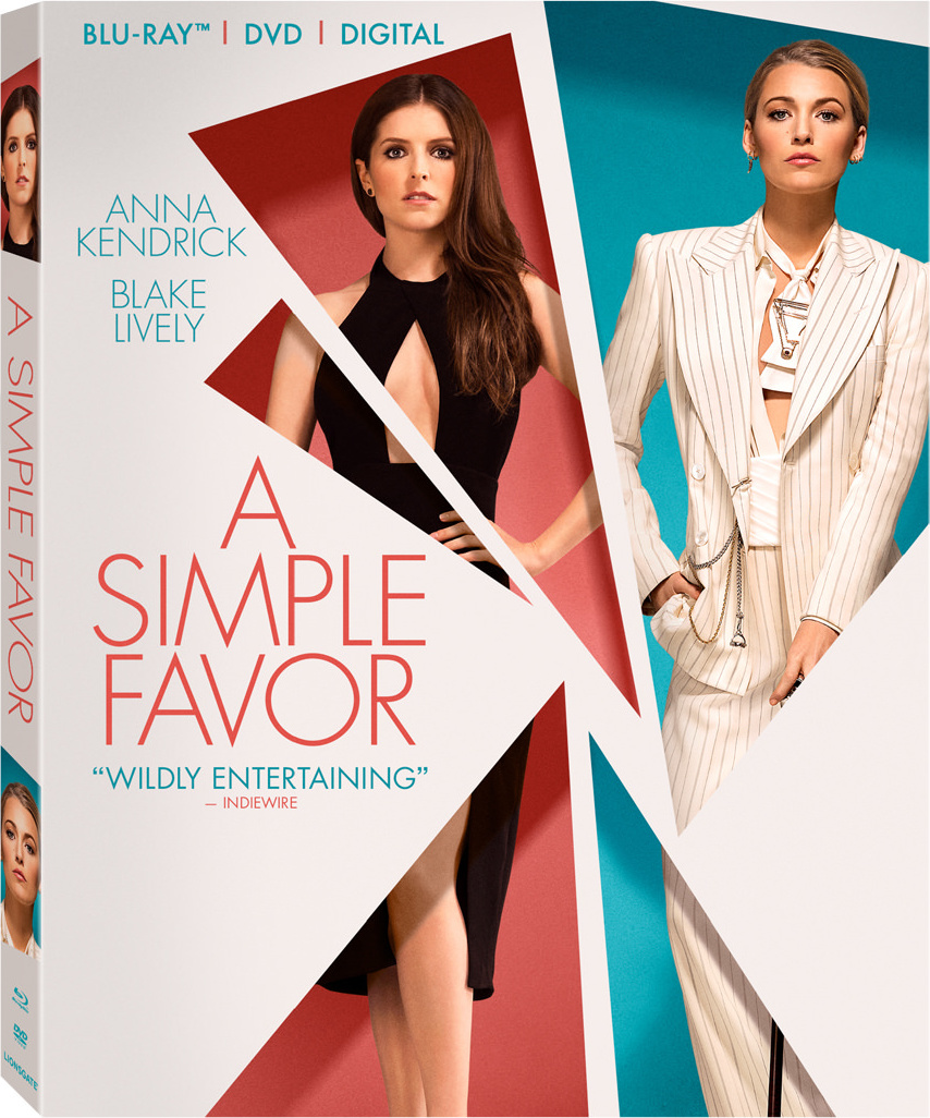 A Simple Favor (2018) poster image