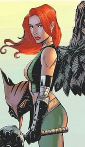 Shiera Sanders/Hawkgirl