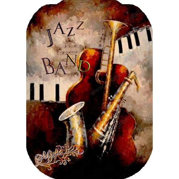18.Art Huile.Jazz.Band