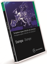 Mercedes Benz Navigations DVD COMMAND APS 2018-2019 Europe NTG1 V19