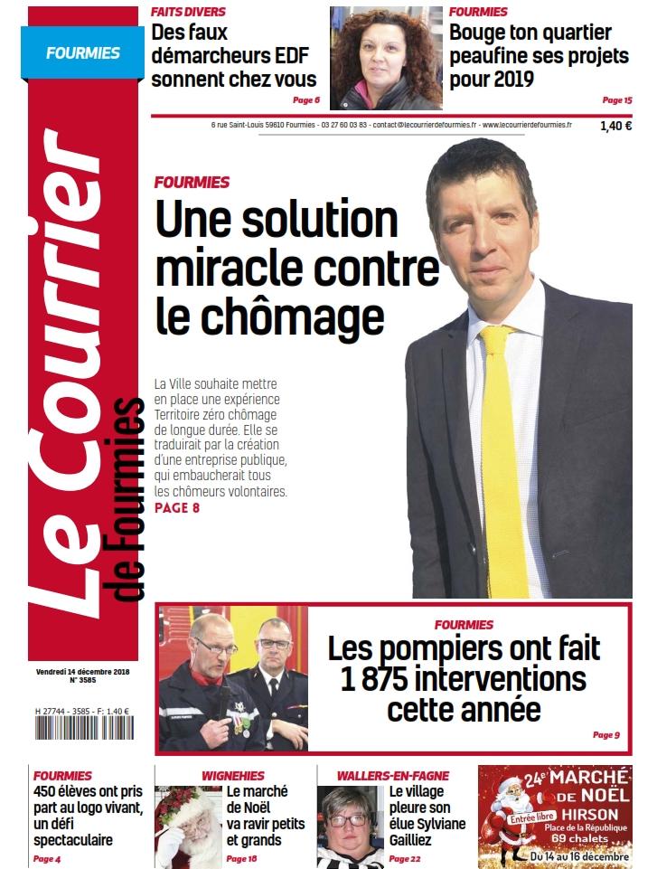 Le_Courrier_de_Fourmies du vendredi 14 décembre 2018