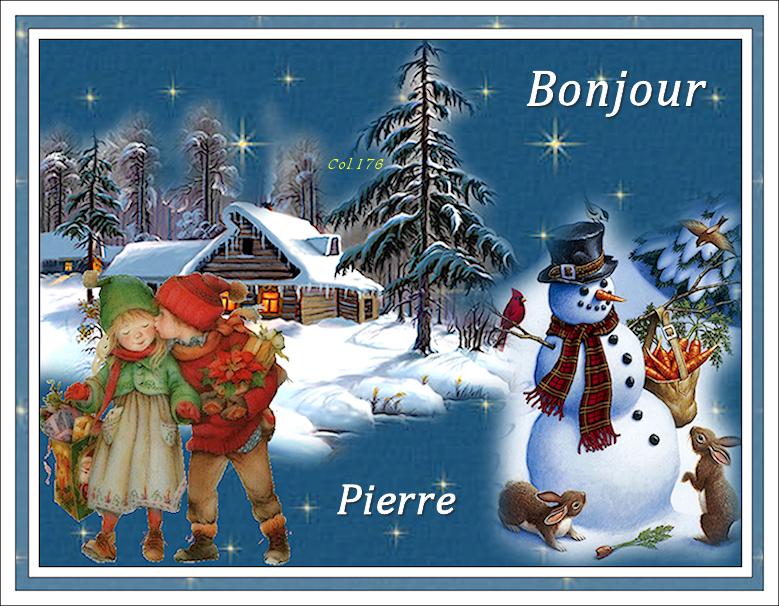 Sigs Bonjour/bonsoir animées - Dimanche 16/12 18121602042420884