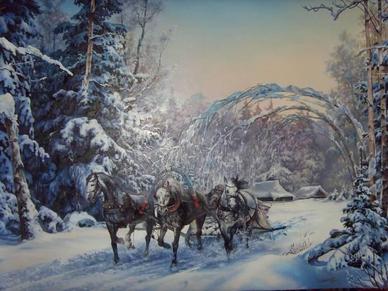 Paysages d'hiver ... 181218014615819153