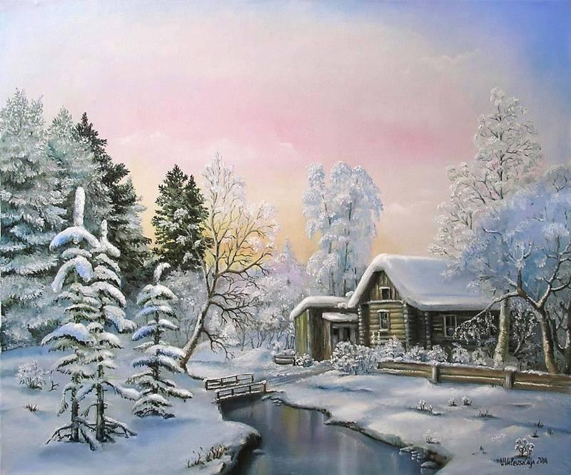 Paysages d'hiver ... 181218014929180422