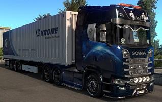 Scania 730 et krone