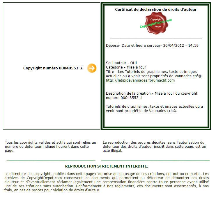 Le règlement du titpi et le règlement des tutoriaux de vannades cré@ 181222081710558614
