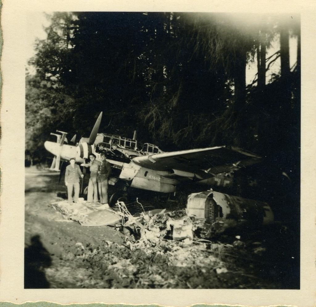 Avions abandonnés - Allemagne 1946 (1)