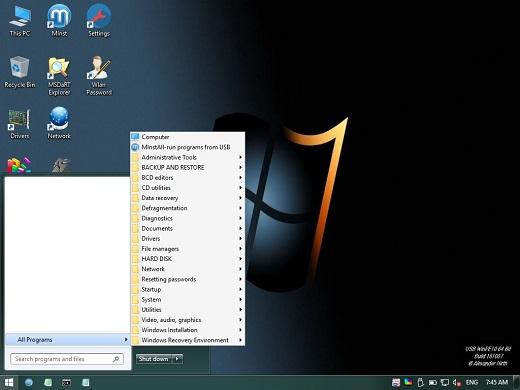 USB WinPE10 Build 181007 (Oct  7, 2018)-P2P – Releaselog | RLSLOG net