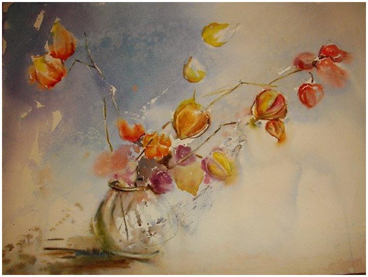 Bouquet dans un vase, une corbeille, une coupe, une poterie  - Page 2 190102123533448517