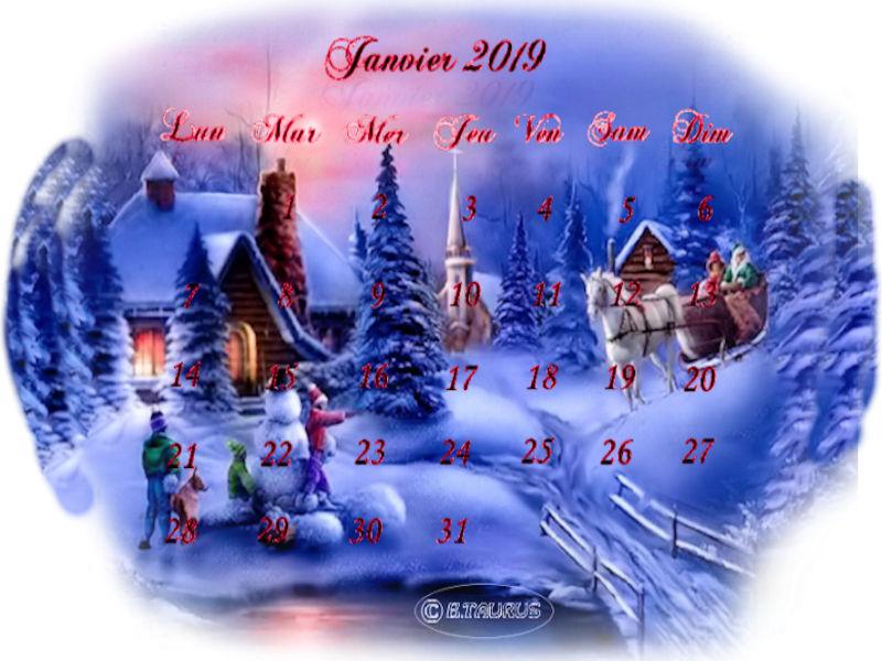 Défis calendrier de Janvier 190104024443133401