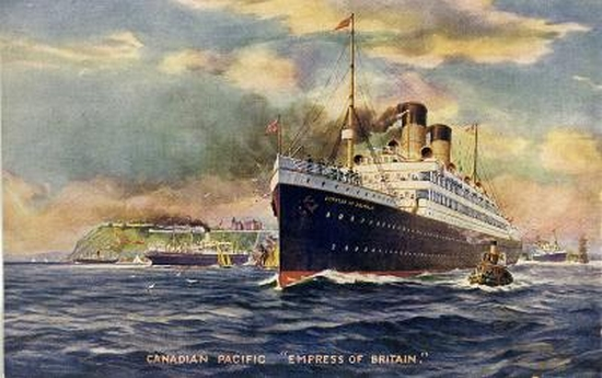 RMS Empress of Britain 190105051750661677