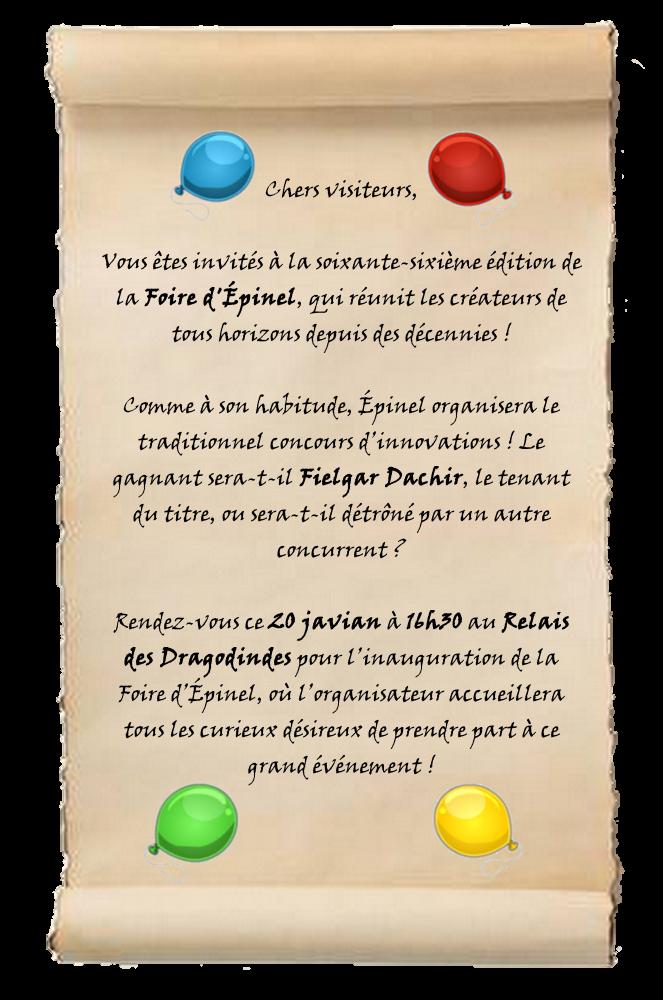 [Event] La foire d'Épinel 190105123452299019