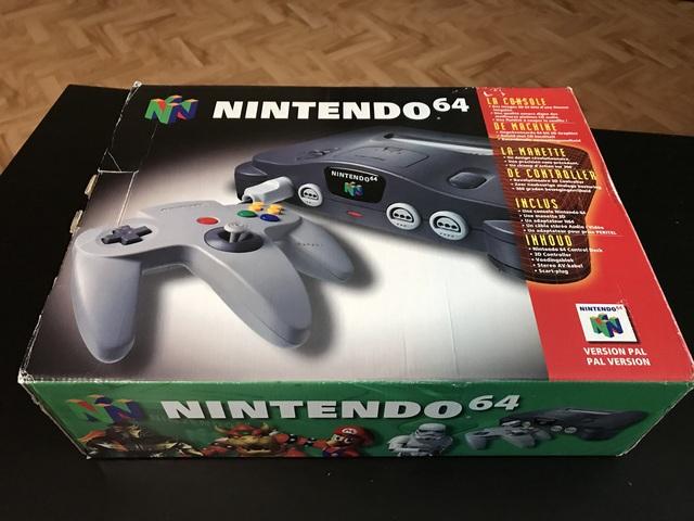 [EST] Consoles Nintendo en boites - N64/GBC/GBA SP/ GB MICRO :)  190106090954634973