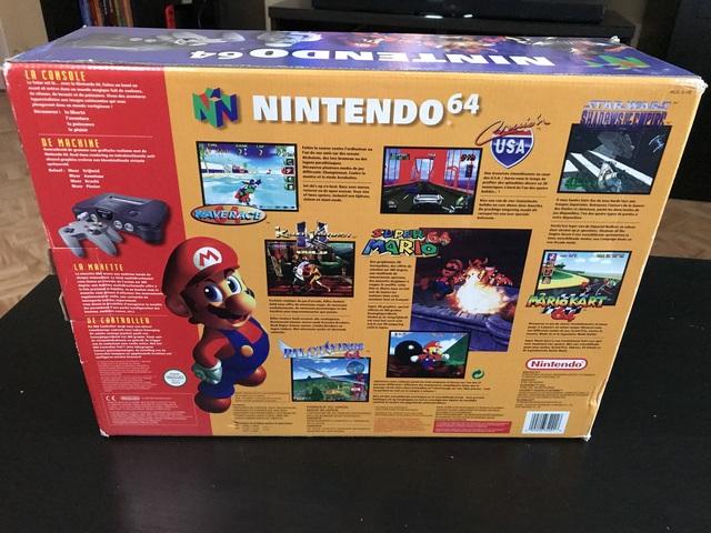 [EST] Consoles Nintendo en boites - N64/GBC/GBA SP/ GB MICRO :)  190106090956928995