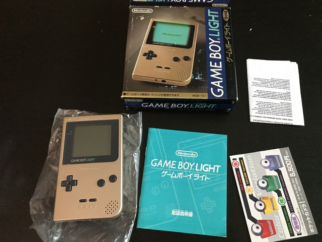 [EST] Consoles Nintendo en boites - N64/GBC/GBA SP/ GB MICRO :)  190106090958990955