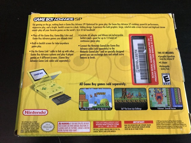 [EST] Consoles Nintendo en boites - N64/GBC/GBA SP/ GB MICRO :)  190106091004839654