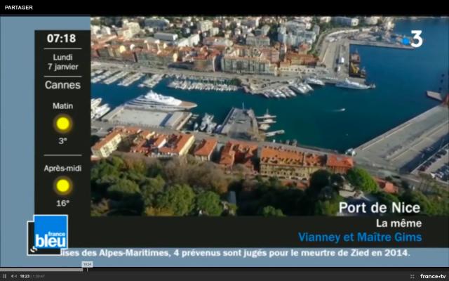 France bleu Azur - habillage pendant musique(1)