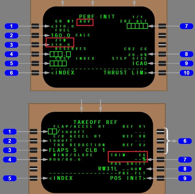 747 400 wb cdu