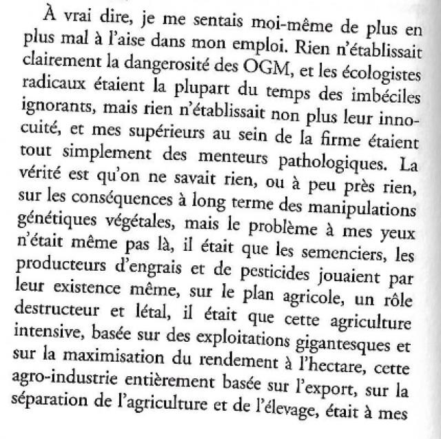 Michel Houellebecq ,un écrivain qui a du flair avec Sérotonine - Page 2 190111061305986985