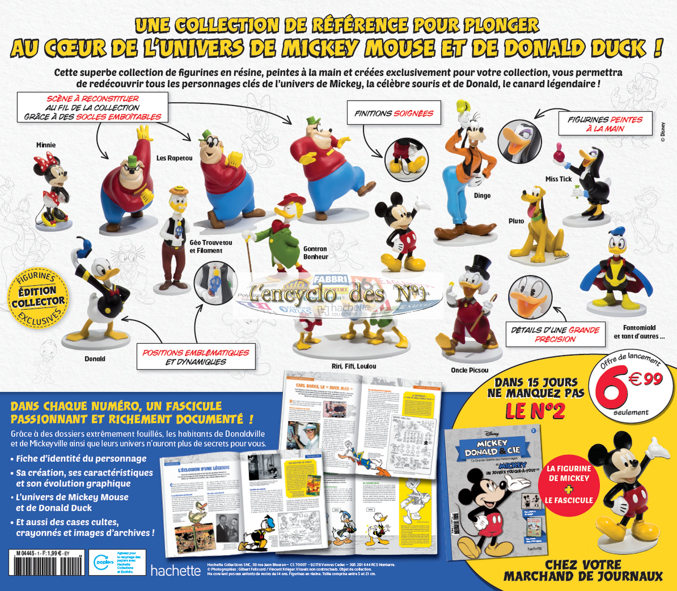 N° 1 Mickey Donald & Cie - Hachette Collections - 12/2019 190111085858113565