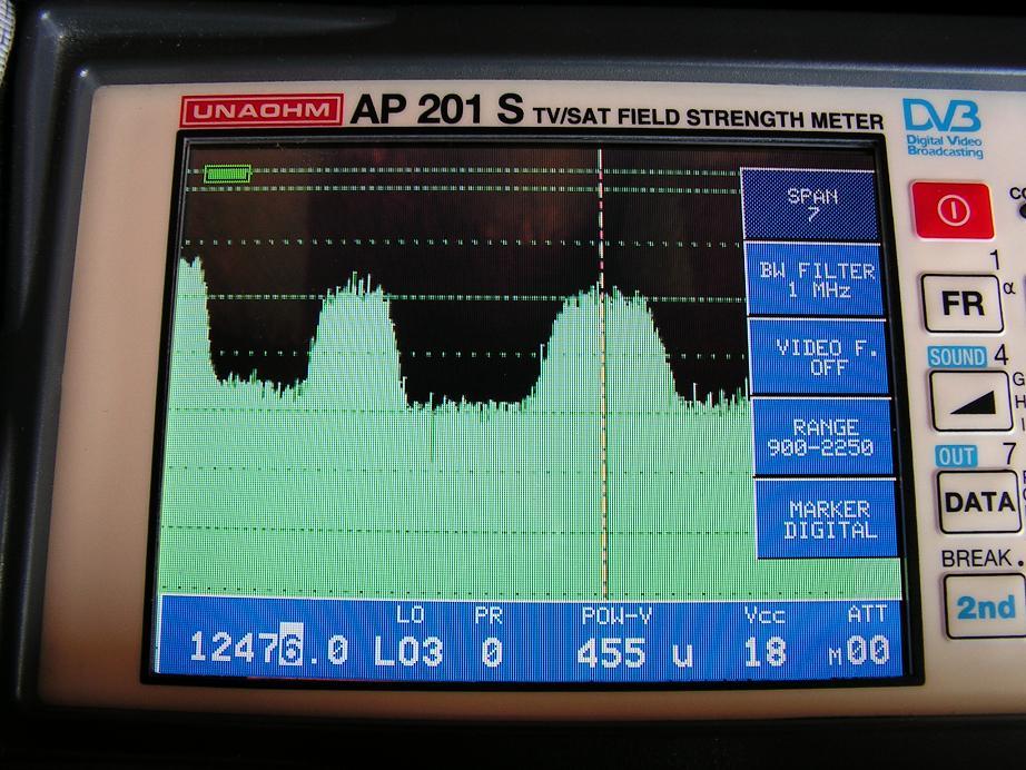 dxsatcs system Bonum 1 at 56.0E 12 476 RC NTV Vostok spectral detail  02