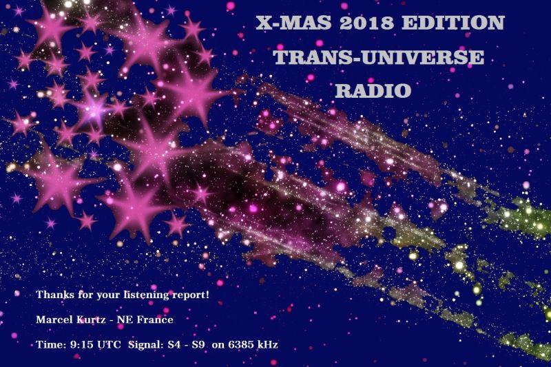 eQSL de Trans-Universe Radio 190112084906742831