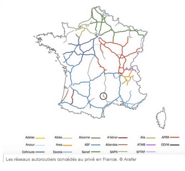 Augmentation des péages dans une France à vendre 19011406105319748