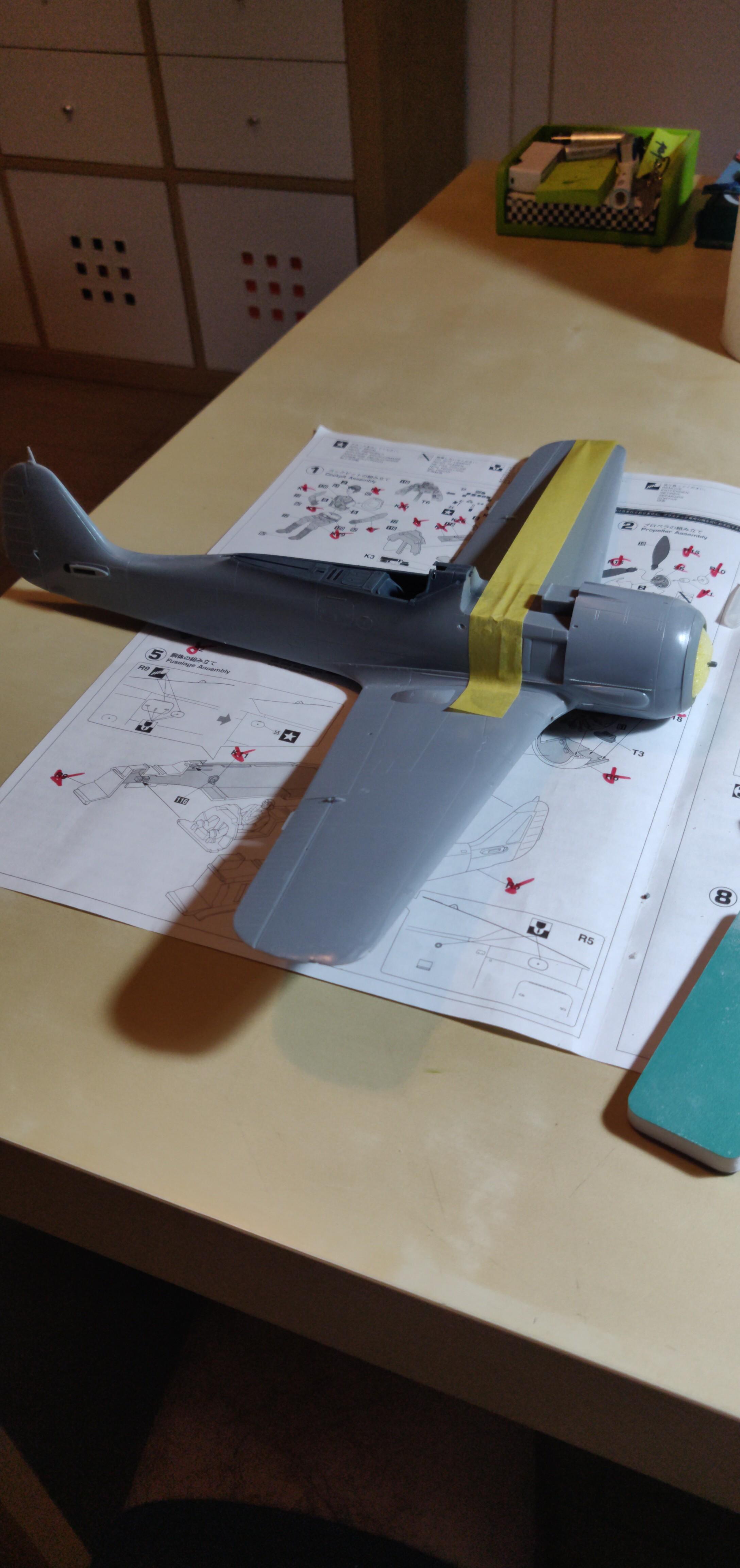 Fw190 A-7 Bär Hasegawa 1/32 190114123321113843